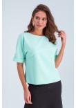 Блуза «Белль» кольору м'яти