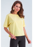 Блуза «Белль» жовтого кольору