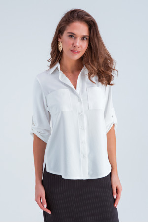 Сорочка «Амалія» білого кольору