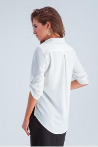 Рубашка «Амалия» белого цвета