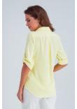 Сорочка «Амалія» жовтого кольору