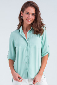 Сорочка «Амалія» кольору м'яти
