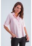 Сорочка «Амалія» рожевого кольору