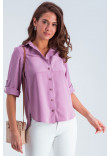 Сорочка «Амалія» бузкового кольору
