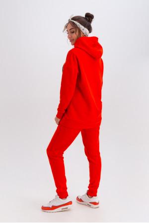 Спортивный костюм «Дина» оранжевого цвета