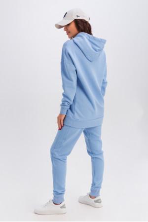 Спортивный костюм «Дина» голубого цвета