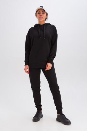 Спортивний костюм «Діна» чорного кольору