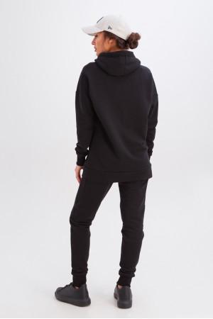 Спортивный костюм «Дина» черного цвета
