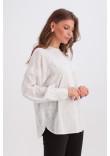 Блуза «Сігрід» білого кольору