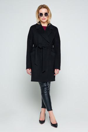 Женское пальто «Тейлор» черного цвета