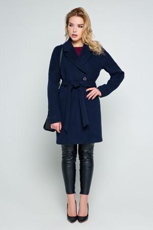 Женское пальто «Тейлор» синего цвета