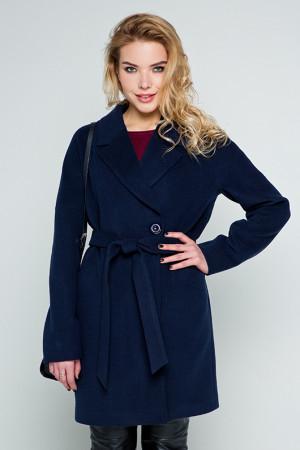 Жіноче пальто «Тейлор» синього кольору