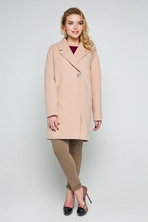 Женское пальто «Тейлор» бежевого цвета