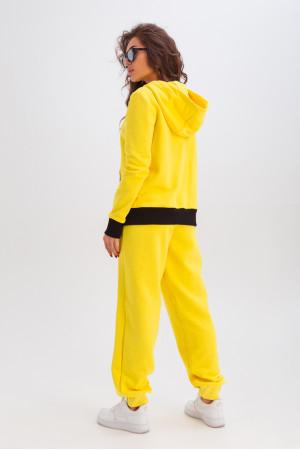 Спортивный костюм «Фрейя» желтого цвета