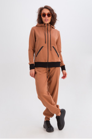 Спортивний костюм «Фрейя» кольору кемел