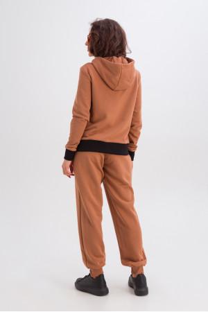 Спортивный костюм «Фрейя» цвета кэмел