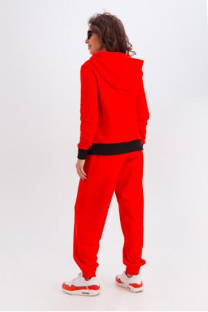 Спортивный костюм «Фрейя» оранжевого цвета