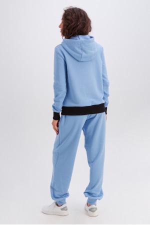 Спортивный костюм «Фрейя» голубого цвета