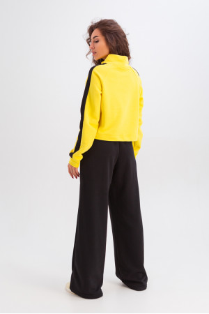 Спортивный костюм «Мэрайя» желтого цвета