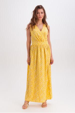Платье «Антонелла» желтого цвета