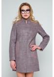 Жіноче пальто «Нора» рожевого кольору