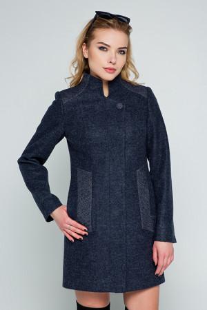 Жіноче пальто «Нора» чорного кольору