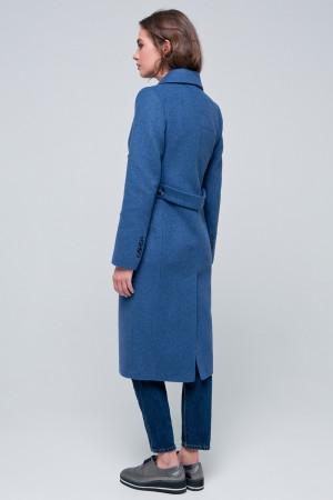 Жіноче пальто «Рене» блакитного кольору