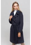Жіноче пальто «Ронні» кольору морської хвилі