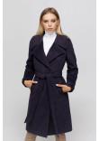Жіноче пальто «Ронні» ультрафіолетового кольору