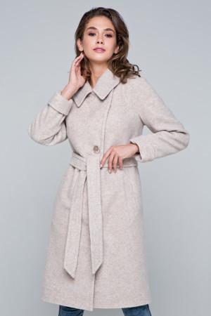 Жіноче пальто «Ронні» бежевого кольору