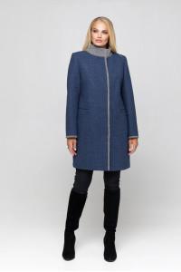 Жіноче пальто «Табіта» блакитного кольору