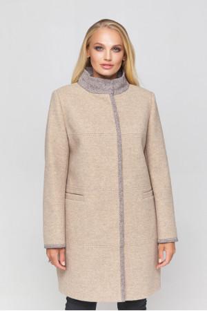 Жіноче пальто «Табіта» бежевого кольору