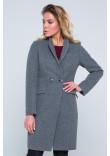 Жіноче пальто «Марсі» сірого кольору