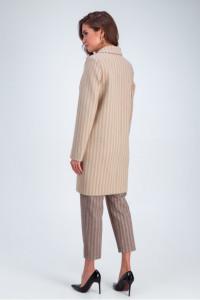Жіноче пальто «Бьянка» бежевого кольору