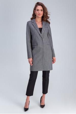 Женское пальто «Бьянка» серого цвета