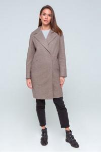 Жіноче пальто «Джил» кольору капучино