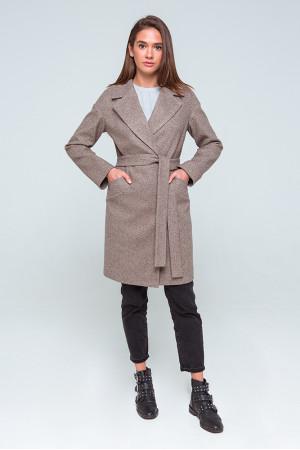 Женское пальто «Джил» цвета капучино