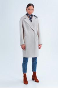 Женское пальто «Джил» светло-бежевого цвета