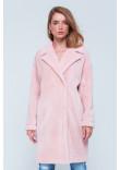 Жіноча шуба «Монро» рожевого кольору