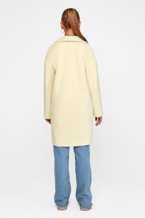 Женское пальто «Монро» ванильного цвета