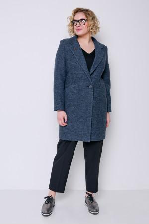 Жіноче пальто «Аїда» кольору антрацит