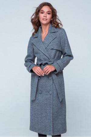 Жіноче пальто «Івона» сірого кольору
