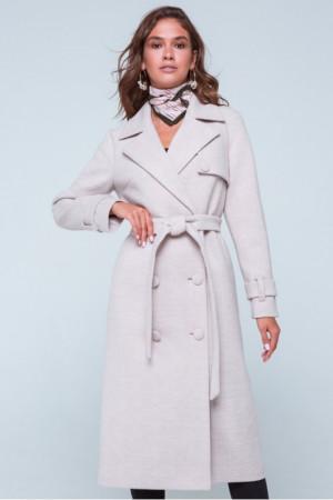 Женское пальто «Ивона» бежевого цвета