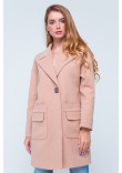 Жіноче пальто «Джуді» бежевого кольору