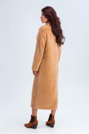 Женское пальто «Элизабет» цвета кэмел