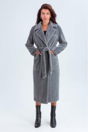 Жіноче пальто «Елізабет» сірого кольору