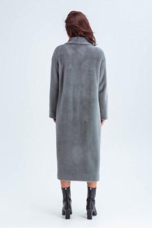 Женское пальто «Элизабет» серого цвета