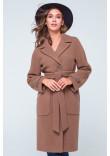 Жіноче пальто «Елла» світло-коричневого кольору