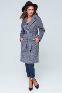 Жіноче пальто «Симона» синього кольору