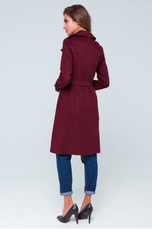 Женский плащ «Рейн» бордового цвета